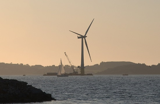 Norwegian energy giant proposes huge floating wind farm in the Aegean