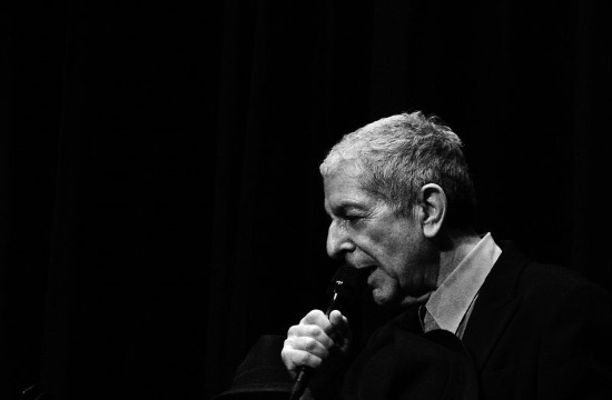 Leonard Cohen tribute at Athens Concert Hall on September 21