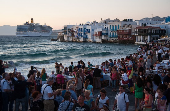 Greek tourism revenue up by 10,6% at €14,16 billion during first 10 months of 2017