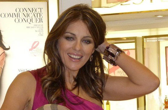 Elizabeth Hurley reminisces about her vacations in Greece