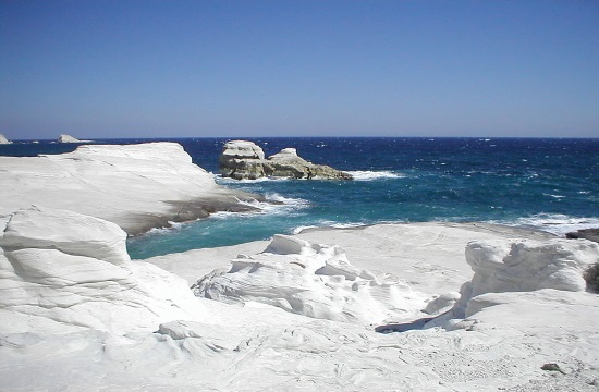 Features for the Greek island of Milos across international media