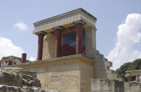 Rare artifacts and complex features in architecture found in Minoan palace on Cretan mountain