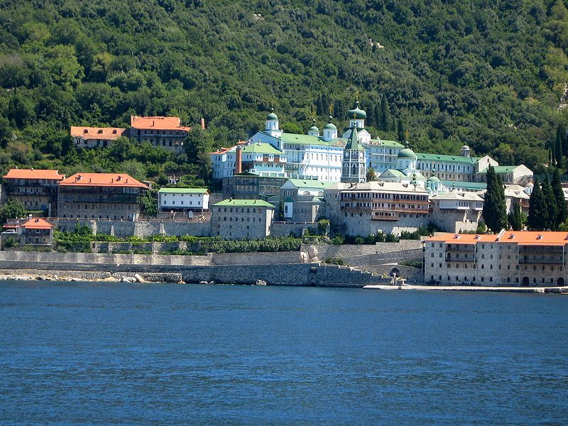 "Mystery woman's bones unearthed at ""exclusive male monastery"" of Mount Athos in Greece"