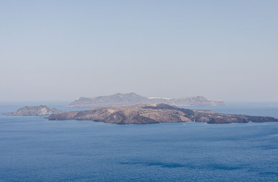 AP: Probing beneath the surface of Santorini's volcano with sound (videos)