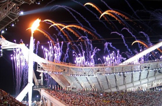 Athens Olympic Stadium's heavy maintenance and upgade works underway