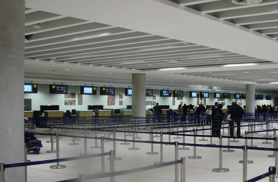 Cyprus airport open with tourists facing coronavirus control measures