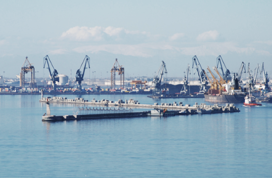 Final steps for Thessaloniki Port's 6th Pier extension project