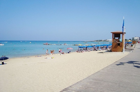 Tourist revenues drop by 87.3% in Cyprus during January – August