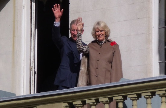 """Prince Charles in Athens : """"Greece is in my blood"""""""