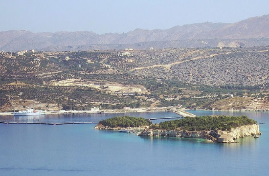 Airfield expansion at NSA Souda Bay in Greek island of Crete