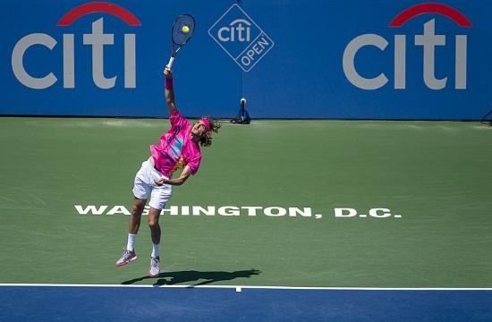 AP: Greek tennis star Tsitsipas beats Caruso at Australian Open (video)