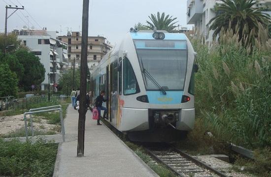 Signaling systems cause slight delay to Kiato - Aegio train section delivery