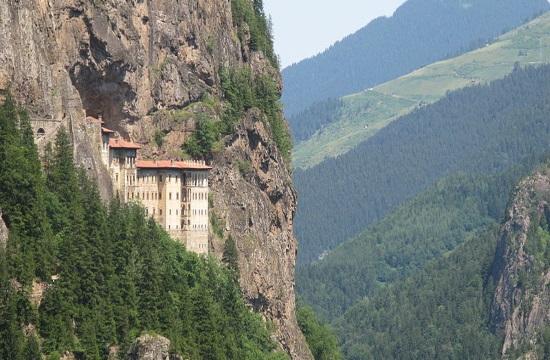 Historic Panagia Sumela Monastery frescoes damaged in Turkey