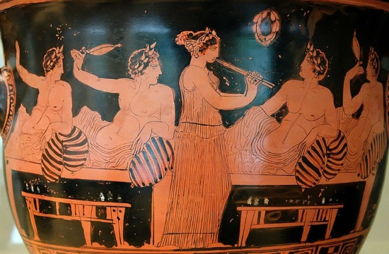 Report: Why did Ancient Greeks recline to eat and drink