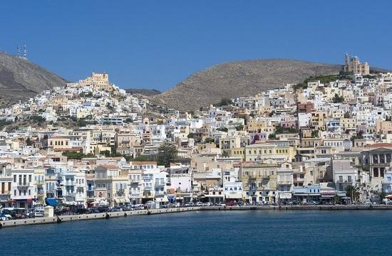 Rembetiko Festival on Syros island in honor of Markos Vamvakaris