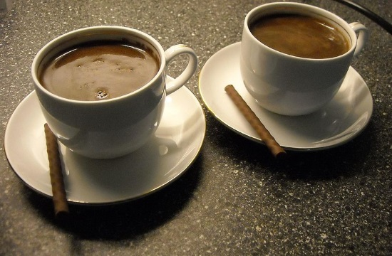 Two different VAT rates on coffee and other beverages in Greece