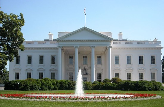 Greeks and Armenians protest Turkish President's visit to the White House
