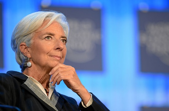 IMF's Lagarde reiterates that restructuring Greece's debt is essential