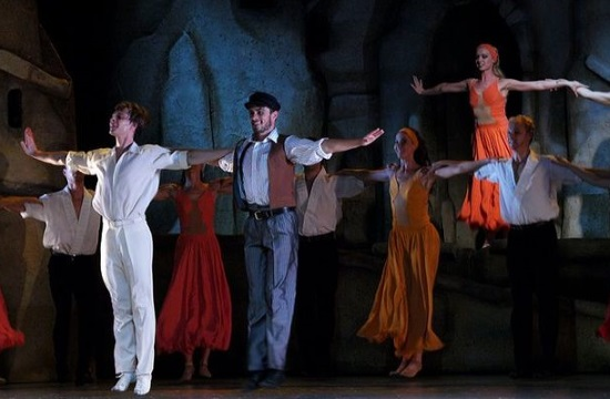Zorba the Greek presented at the Opera of Cairo on Saturday