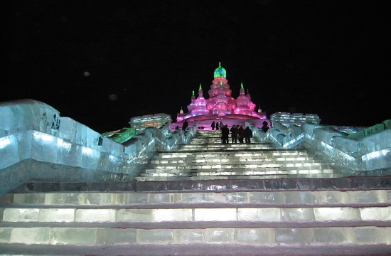 Amazing ice sculpture festival in Harbin, China till February 25, 2017