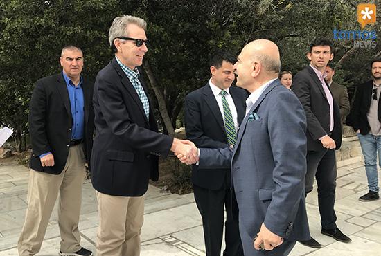 US ambassador Geoffrey Pyatt: I recommend to Americans to visit Greece (video)