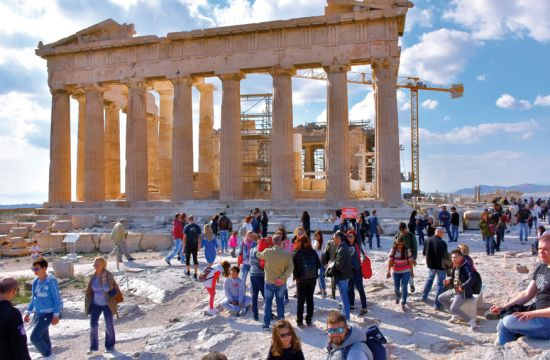 Opening of access infrastructure for the disabled on the Acropolis in Athens