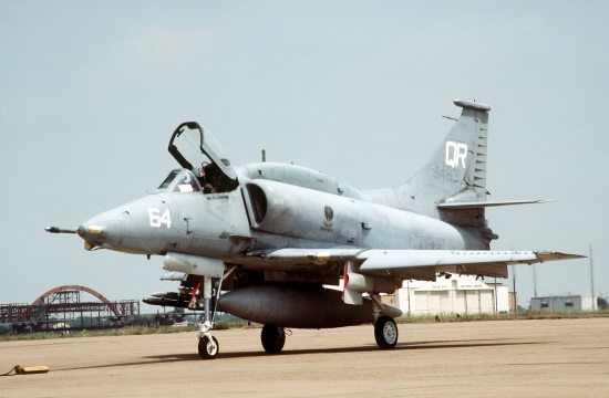 Pilot OK After Military Weapons School Exercise