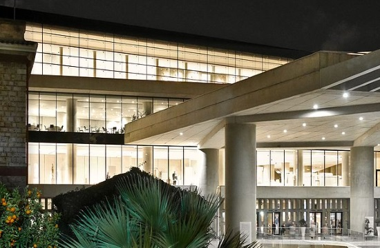 Guided night tour at the Athens Acropolis Museum on Friday
