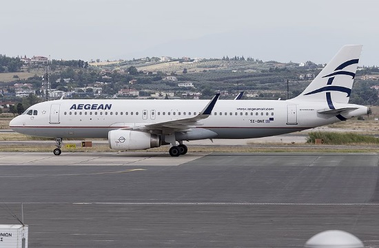 Aegean suspends flights abroad except for Brussels from March 26-April 30