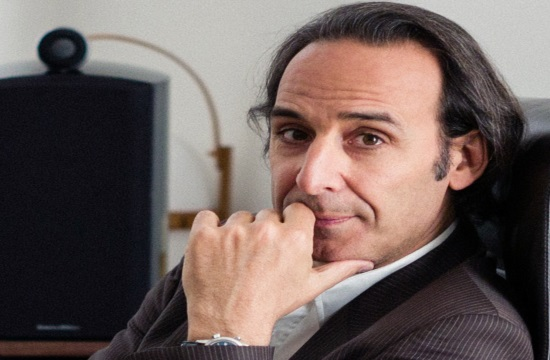 Greek-French Alexandre Desplat wins Golden Globe's original score