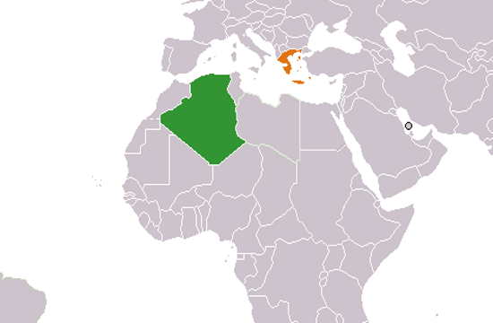 Greece and Algeria united against any foreign intervention in Libya