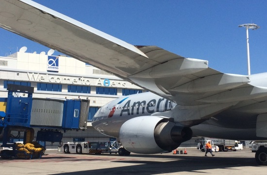American Airlines marks first non-stop flight from Chicago to Athens (video)