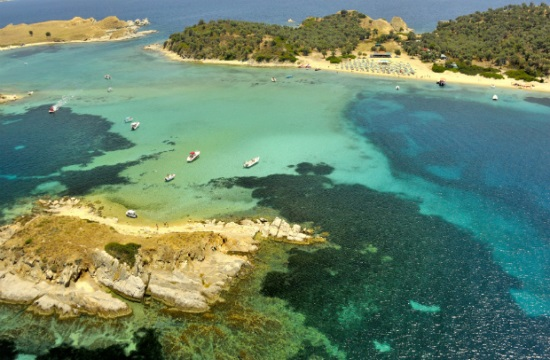 Tornos News London Times praises the Greek island of Ammouliani in