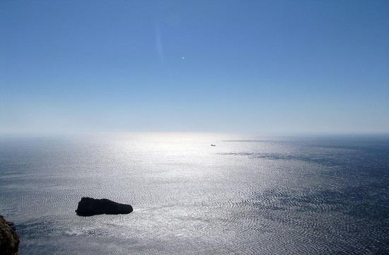 "First underwater gallery on ""Big Blue"" Amorgos island"