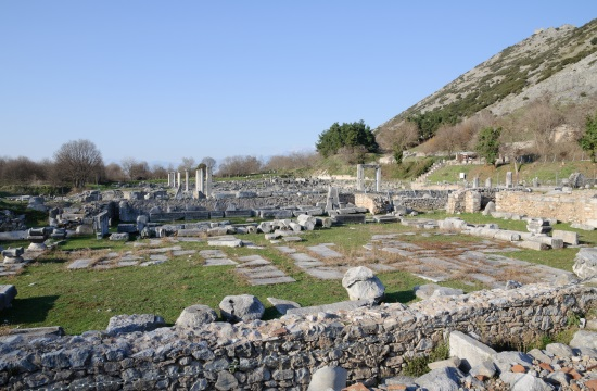 Events at Filippi archaeological site in northern Greece