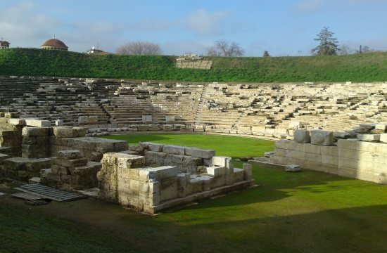 First Ancient Theater of Larisa in Greece