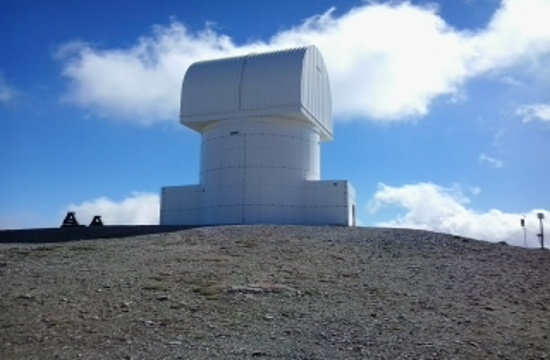 Greece's Mt. Helmos telescope becomes first station in EU for satellite telecoms program