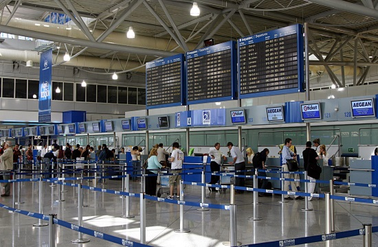 Passenger traffic in Greek airports up by 9% in January