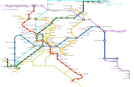 Syntagma and Panepistimio Athens metro stations to close today at 18:00