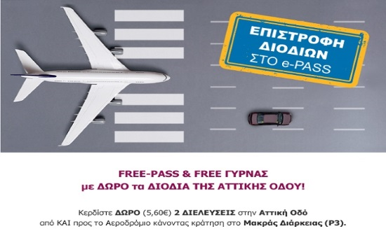 How travellers can get tolls refund at Attiki Odos to and from Athens Airport