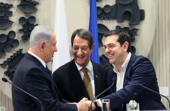 Greece-Israel-Cyprus agree on East-Med pipeline at 5th Trilateral Meeting