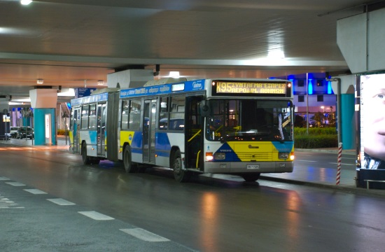 Staff on Athens' buses announce work stoppages on May 16-18