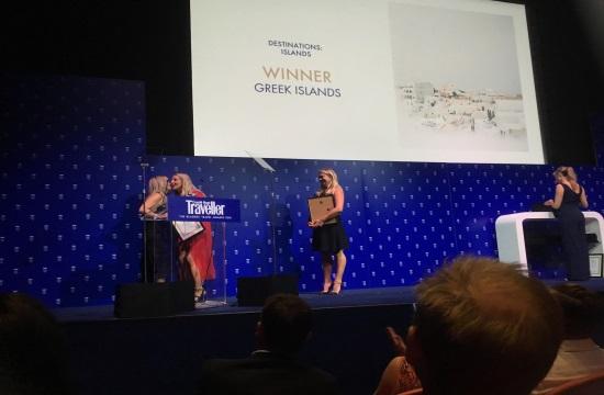 Greece picked as top destination for 2018 at Condé Nast Traveller Awards gala