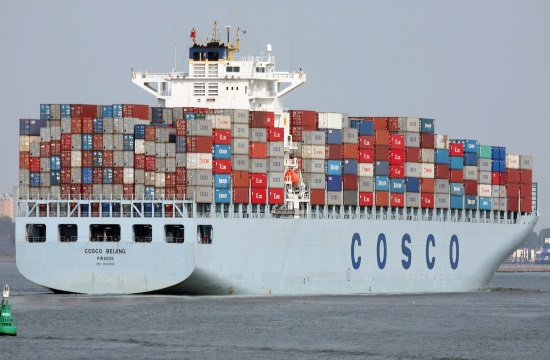 Chinese Cosco turns Piraeus into second largest port in the Mediterranean