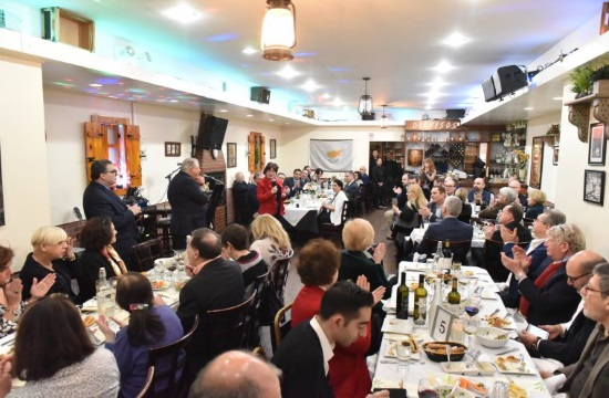 Cypriot and Jewish community organizations cultural event in Astoria (video)