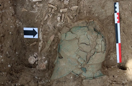 First ancient Corinthian Helmet discovered in Southwest Russia