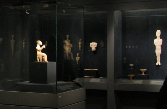 Athens' state of the art Cafe at the Museum of Cycladic Art