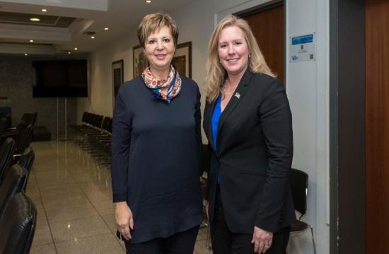 US Assistant Secretary for Security Elizabeth Neumann visits Greece