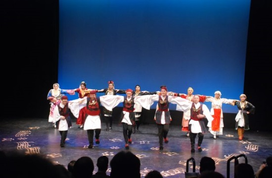 The Hellenic Dancers of New Jersey Taverna night on April 7