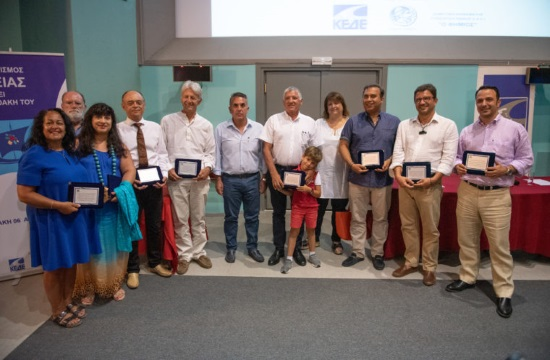 Global Health Tourism figures honored in Ithaca, the island of Odysseus in Greece
